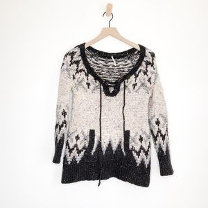 Free People Boho Sweater